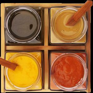 salsas y aceites